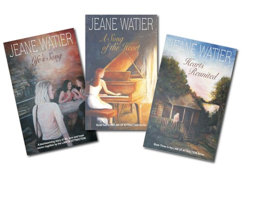 Law of Attraction Trilogy of Novels